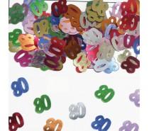 Tafeldeco/sier-confetti: 80