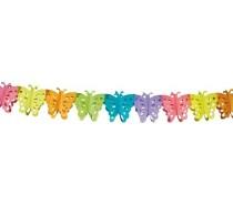 Papieren slinger: Vlinder/Butterly 6 mtr. B.V