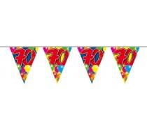 Vlaggenlijn Balloons: 70 jaar 10 mtr.