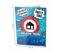 Window Signs Welkom Thuis 60 x 45 cm