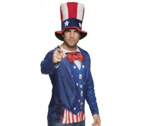 Photorealistic shirt: Uncle Sam