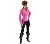 Markiezin jas incl. vest pink