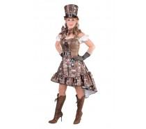 Steampunk sexy jurk