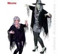 Halloween: Heksen cape een maat