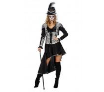 Pirate/Voodoo Zwart Zilver