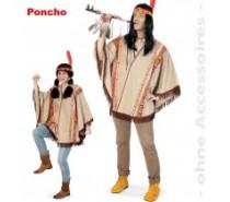 Western: Poncho een maat