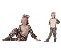 Dieren: Giraf pak kind