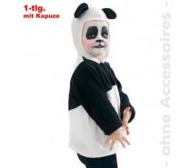 Panda hesje met capuchon